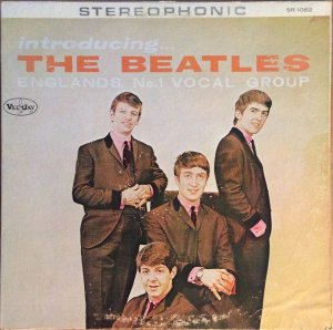 lp the beatles ‎– introducing... the beatles (englands no.1 vocal group) IMP - USA