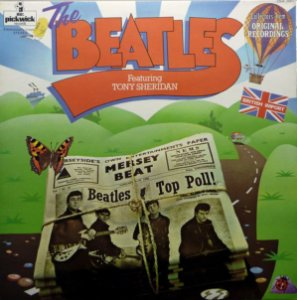 LP - The Beatles Featuring Tony Sheridan - IMP : UK
