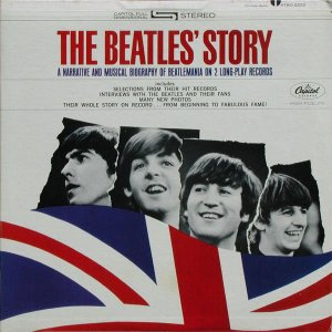 LP - The Beatles ‎– The Beatles' Story ( Duplo ) - 1964