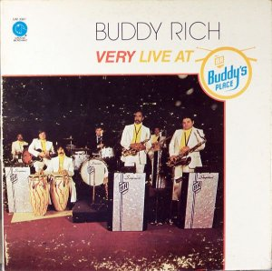 LP -  Buddy Rich – Very Live At Buddy's Place
