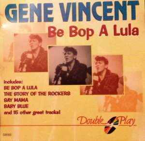 CD - Gene Vincent ‎– Be Bop A Lula - IMP