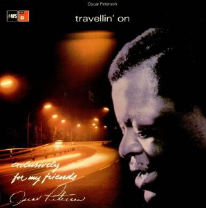 LP - The Oscar Peterson Trio ‎– Travelin' On
