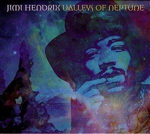CD - Jimi Hendrix – Valleys Of Neptune (Digipack)