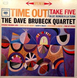 LP - The Dave Brubeck Quartet – Time Out
