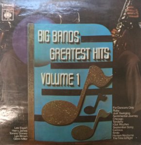 LP - Big Bands Greatest Hits