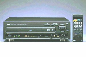 Yamaha - CDV - W901- LaserVision Disc
