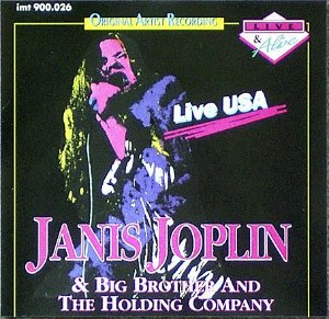 CD - Janis Joplin & Big Brother & The Holding Company ‎– Live USA