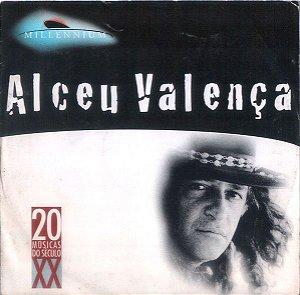 CD - Alceu Valença – Millennium - 20 Músicas Do Século XX