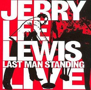CD + DVD -  - Jerry Lee Lewis – Last Man Standing Live - DVD/CD (DUPLO)