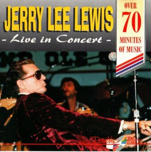 CD - Jerry Lee Lewis ‎– Live In Concert - IMP,