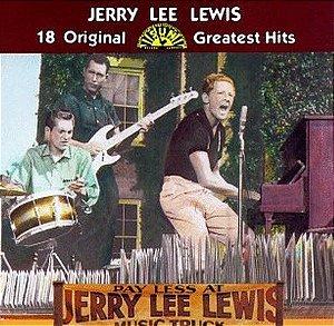 cd - Jerry Lee Lewis – 18 Original Sun Greatest Hits - imp