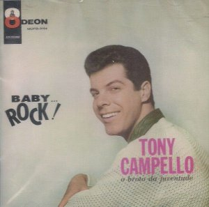 Tony Campello ‎– Baby... Rock!
