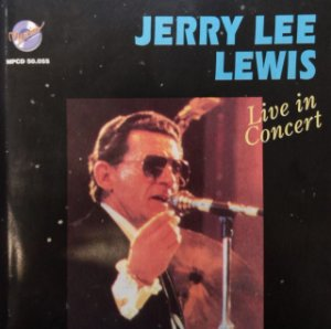 CD Jerry Lee Lewis - Live in Concert