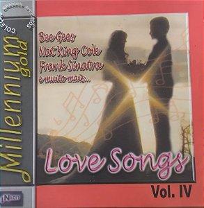CD - Millennium Gold - Love Songs - Vol. IV (Vários Artistas)