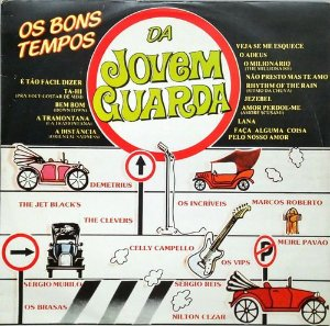 LP - Various - Os Bons Tempos da Jovem Guarda