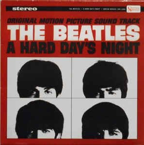 CD - The Beatles – A Hard Day's Night  (ORIGINAL SOUND PICTURES)