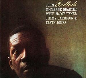 CD - The John Coltrane Quartet – Ballads -(IMPORTADO) - Digipack