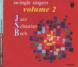 CD - Swingle Singers ‎– Jazz Sebastian Bach, Volume 2 (Importado - USA) - Digipack