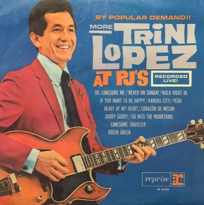 Lp - Trini Lopez ‎– By Popular Demand More Trini Lopez At P.J.'s (Nacional - 1964)