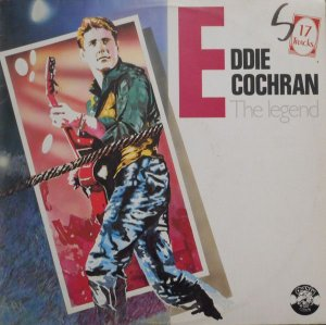 Lp- Eddie Cochran ‎– The Legend
