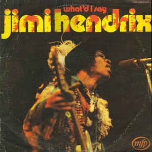 LP- Jimi Hendrix ‎– What'd I Say ( Importado - England)