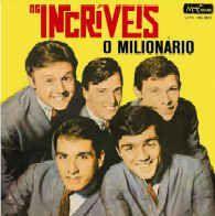 LP - Os Incríveis – O Milionário (Nacional 1994)