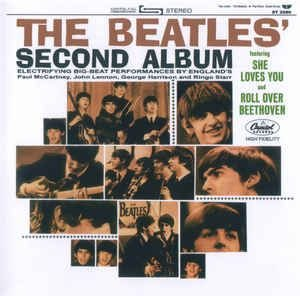CD - The Beatles ‎– The Beatles' Second Album