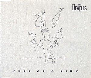 CD - The Beatles – Free As A Bird ( Single -  Importado - Austrália)