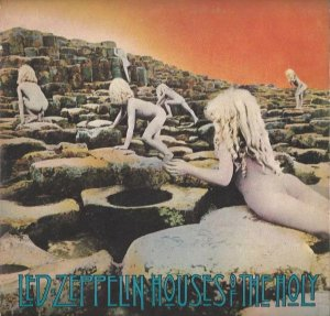 LP - Led Zeppelin – Houses Of The Holy - 1973