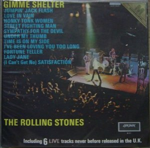 LP - The Rolling Stones – Gimme Shelter