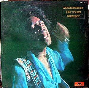 LP - Jimi Hendrix – Hendrix In The West - Imp Germany