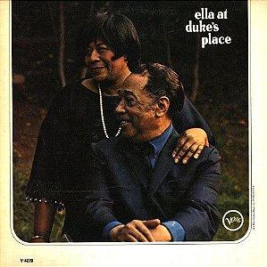 LP - Ella Fitzgerald / Duke Ellington – Ella At Duke's Place - 1966 (Importado US)