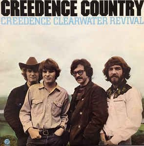 LP - Creedence Clearwater Revival ‎– Creedence Country (Importado - US - 1981)