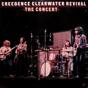 LP- Creedence Clearwater Revival ‎– The Concert - 1980 (Importado US)