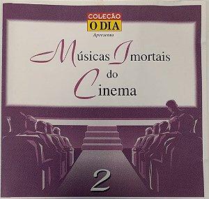 CD - Various - Musicas Imortais do Cinema - Volume 2 - Coleção O DIA