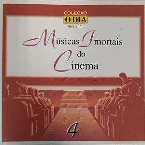 CD - Coleção Musicas Imortais do Cinema - Volume 4 - Coleção O DIA