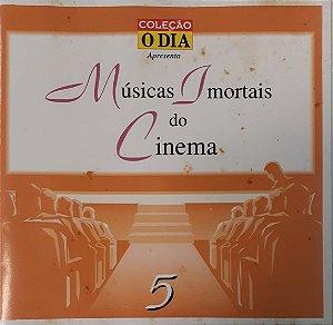 CD - Various - Musicas Imortais do Cinema - Volume 5 - Coleção O DIA
