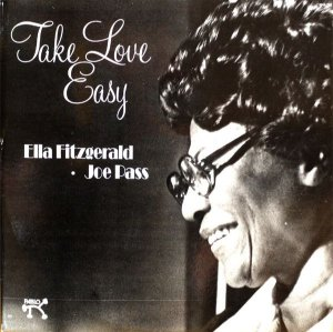 LP Ella Fitzgerald & Joe Pass – Take Love Easy- Importado (US)