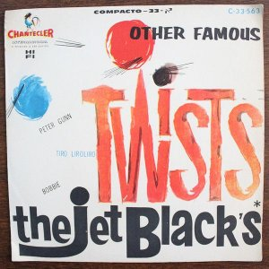 Comp - The Jet Blacks ‎– Other Famous Twists 1963