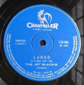 "Comp - The Jet Black's ‎– Largo (7"", 33 ⅓ RPM) - 1967"