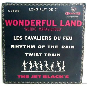 "Comp - The Jet Black's ‎– Wonderful Land Of The Jet Black's (7"", 33 ⅓ RPM, EP) - 1964"