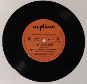 "Comp - The Jet Black's ‎(Vinyl, 7"", 33 RPM, EP)"