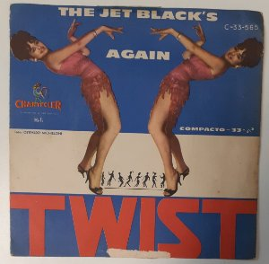 "Comp - The Jet Black's ‎– Again Twist (Vinyl, 7"", 33 ⅓ RPM, EP, 6-song EP)"