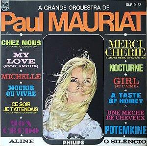 LP - A Grande Orquestra De Paul Mauriat