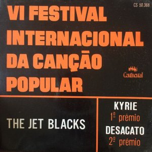 "Comp - The Jet Blacks ‎– VI Festival Internacional Da Canção Popular ( Vinyl, 7"", 33 ⅓ RPM)"