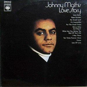 LP – Johnny Mathis – Love Story - 1971