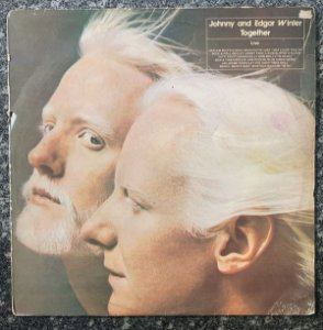 LP -  Johnny & Edgar Winter ‎– Together