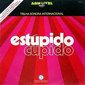 LP - Estúpido Cupido Internacional (Novela Globo) (Vários Artistas)