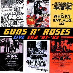 CD - Guns N' Roses – Live Era '87-'93 (Duplo)