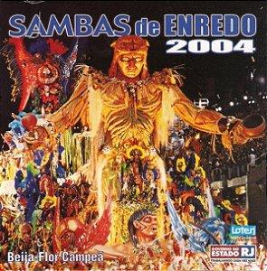 CD - Sambas De Enredo 2004 (Vários Artistas)